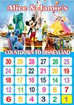 Countdown to Disneyland Chart